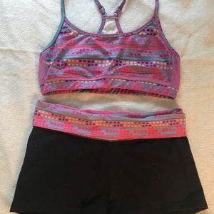 💎💎 AERIE sports bra and short set 💎💎